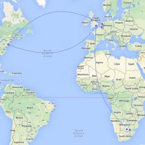 pretty impressive itinerary...